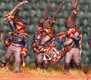15mm, Napoleonic Prussian Fusilier (1812-1815) AB 24 figures